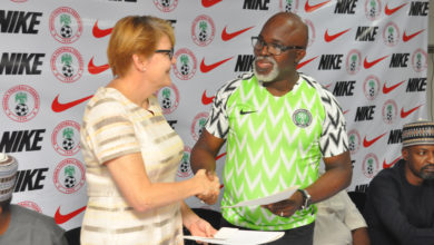 Photo of NFF signs new, improved contract with NIKE