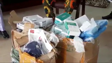 Photo of Lagos businessman, Anagolu lifts Ojo LGA with Coronavirus protective items
