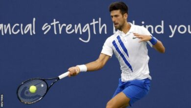 Photo of Djokovic wins in New York, equals Nadal's record