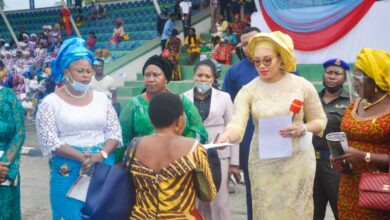Photo of Imo First Lady, Chioma drums support for husband