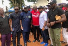 Photo of Ex Rangers, 042 Football Legends Association make strong presence at Igweonu's burial