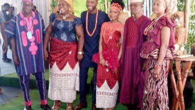 Photo of Edo bigwigs grace Solomon Ilaboya's wedding in Lagos