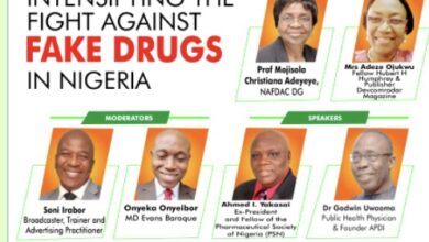 Photo of NAFDAC DG, top pharmacists to storm webinar on fighting fake drugs