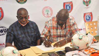 Photo of Akwa Utd, Boboye strike fresh deal