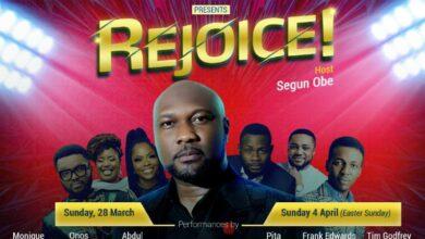 Photo of Segun Obe, host of new DStv, GOtv gospel show, Rejoice laid bare