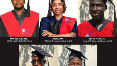 Photo of MultiChoice talent factory graduates Class of 2020