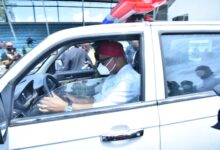 Photo of Uzodimma presents 100 patrol vehicles fitted with gadgets to security agencies