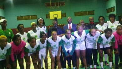 Photo of African Handball Cup of Nations: Minister tasks female handball team