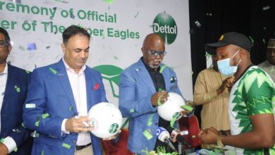 Photo of Excitement as Dettol becomes official hygiene partner of the Super Eagles
