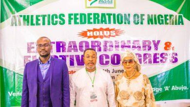 Photo of Egbe congratulates new AFN boss, Okowa