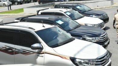 Photo of Gov Diri donates operational vehicles to security agencies