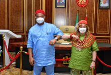 Photo of U.S. Ambassador storms Owerri, assures Imo state govt of support