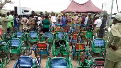 Photo of Jikamshi Inaugurates 40 Wheelchair Corpers Project